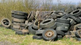 odpadové pneumatiky, odpady, spätným zberom odpadových pneumatík