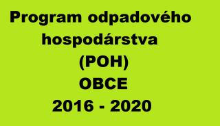 POH, oneskorenie, spracovanie POH, program odpadového hospodárstva, spracovať POH, POH obce, Program pre obec