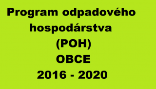 POH, oneskorenie, spracovanie POH, program odpadového hospodárstva, POH obce, POH mestá, program pre obce